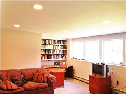 Wellfleet Cape Cod vacation rental - Lower level office with open view of woods