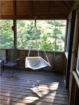 Wellfleet Cape Cod vacation rental - Screened porch for relaxing