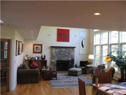 Wellfleet Cape Cod vacation rental - Large Great Room connected to a separate family room