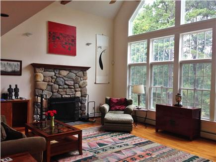 Wellfleet Cape Cod vacation rental - Great Room with large windows to enjoy