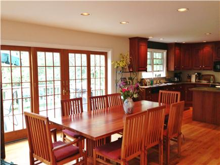 Wellfleet Cape Cod vacation rental - Dining room is very open. You feel connected to the outdoors
