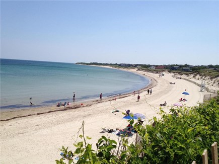Dennis Cape Cod vacation rental - Corporation Beach - a 4 minute walk from the cottage.