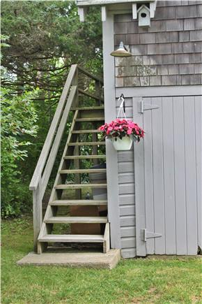 Dennis Cape Cod vacation rental - Entry to boathouse