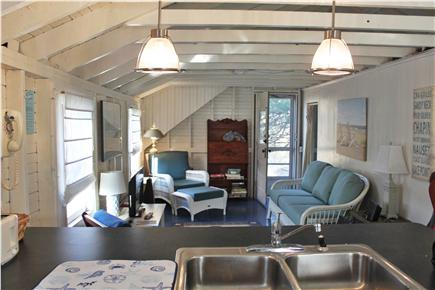 Dennis Cape Cod vacation rental - View from kitchen to living room
