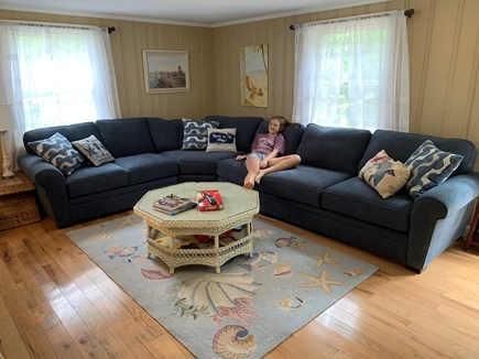 Eastham Cape Cod vacation rental - Spacious living room with a smart TV