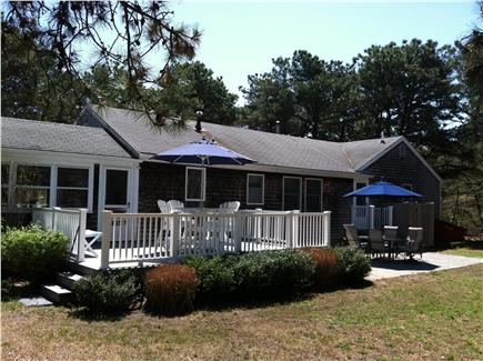 Eastham Cape Cod vacation rental - Deck & patio offer plenty of room for relaxing, dining & BBQ