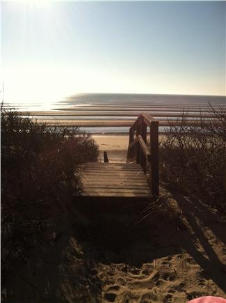 Eastham Cape Cod vacation rental - A nice stroll on the beach to see the sunset over Cape Cod Bay