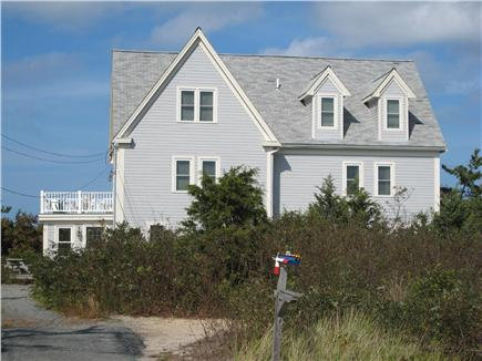 East Dennis Cape Cod vacation rental - Front view - 54 is on the right side of building
