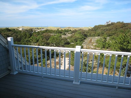 East Dennis Cape Cod vacation rental - The deck off the 3rd level bedroom