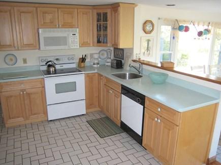 East Dennis Cape Cod vacation rental - Kitchen on 1st floor overlooks dining room