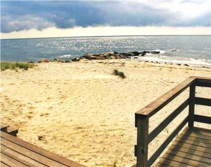 Dennis Port Cape Cod vacation rental - View from the deck