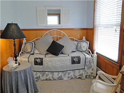 Onset on Water Street Inlet MA vacation rental - Southside 1st Floor Bdrm off LR w/ Twin Trundle (or King) Daybed