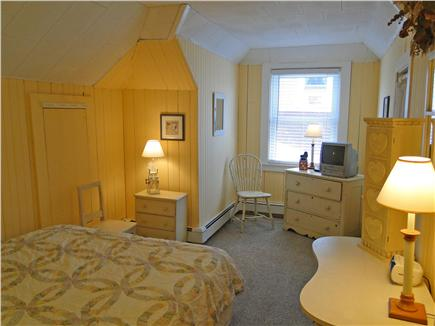 Onset on Water Street Inlet MA vacation rental - Southside 2nd Floor Rear Queen Bdrm w/ TV adj. to Bathroom