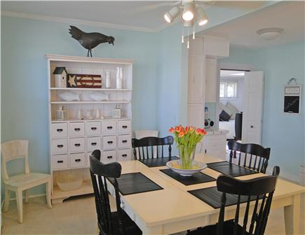 Onset on Water Street Inlet MA vacation rental - Northside Bright & Inviting Dining Area off Living Room & Kitchen
