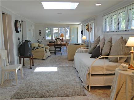 Onset on Water Street Inlet MA vacation rental - Northside Family Room & Study off Laundry, Bath, Bedroom & Yard