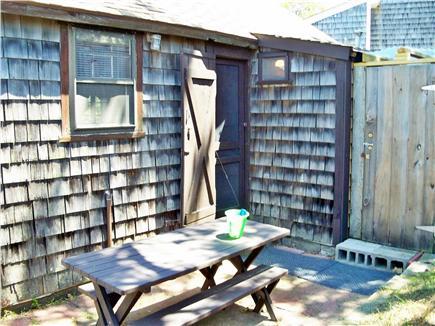 Dennisport Cape Cod vacation rental - Back Door and Outside Shower Door