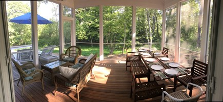 Eastham Cape Cod vacation rental - Who doesn't love a porch?!  Eat, relax, read, play cards...