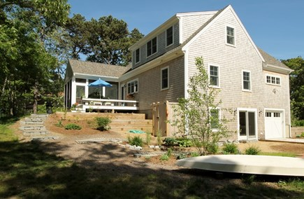 Eastham Cape Cod vacation rental - View from side/back of house