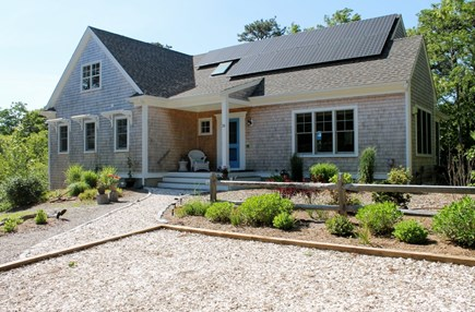 Eastham Cape Cod vacation rental - Solar energy powers the house!