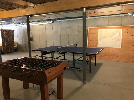 Eastham Cape Cod vacation rental - Rainy day?  No worries!  Enjoy the ping pong and foosball tables
