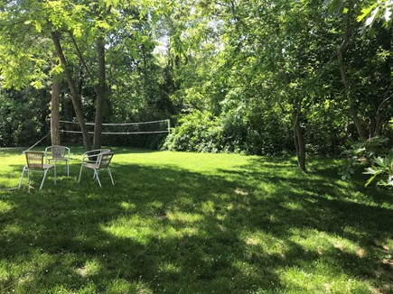 Eastham Cape Cod vacation rental - Large backyard is perfect for a game of badminton or vollyball!