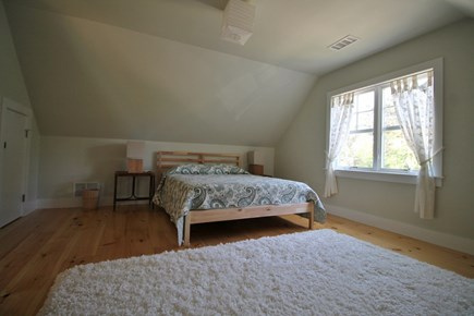Eastham Cape Cod vacation rental - Large 2nd floor bedroom has queen bed and a treehouse feel!