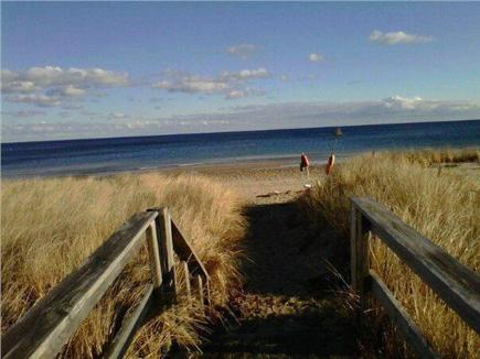 Sagamore Beach, MA. Sagamore Beach vacation rental - Boardwalk to beach - approx 30 yards from cottage
