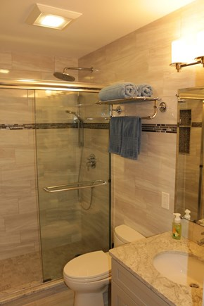 Brewster Cape Cod vacation rental - The Master Bathroom with shower
