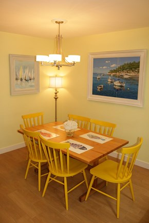 Brewster Cape Cod vacation rental - The Dining Area