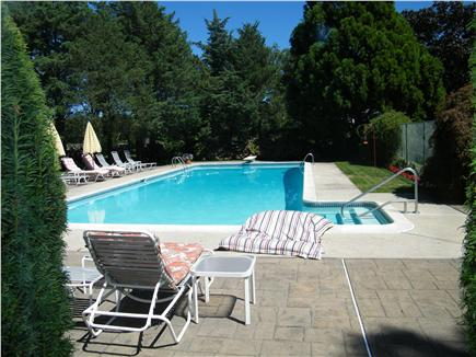 Dennis Cape Cod vacation rental - Pool from the House