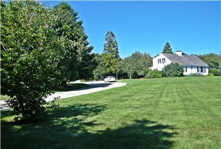 Dennis Cape Cod vacation rental - Property from bottom of the Driveway