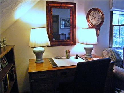 Dennis Cape Cod vacation rental - Desk in Living Room