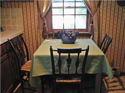 Dennis Cape Cod vacation rental - Kitchen Table