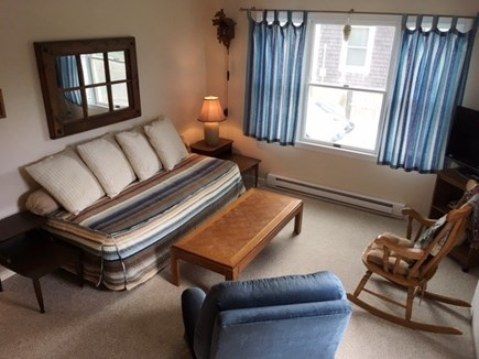 Dennis Cape Cod vacation rental - Family room with pull out twin