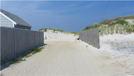Dennis Cape Cod vacation rental - View From End of Driveway