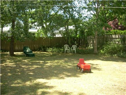 South Yarmouth Cape Cod vacation rental - Private, fenced back yard