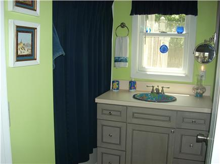 South Yarmouth Cape Cod vacation rental - Bathroom with washer/dryer