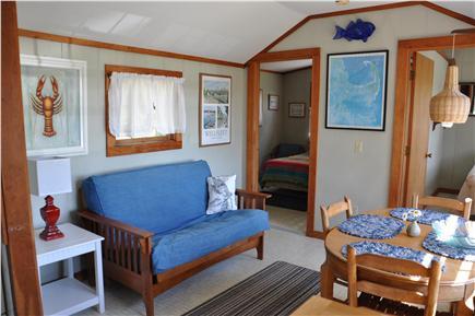 Wellfleet Cape Cod vacation rental - Living/dining area