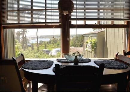 Wellfleet Cape Cod vacation rental - Veiw from dining table