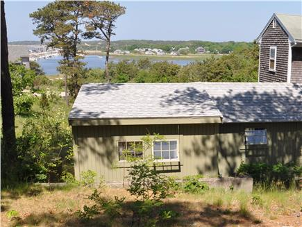 Wellfleet Cape Cod vacation rental - View from hill behind the cottage