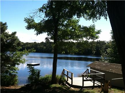 Orleans Cape Cod vacation rental - View of Crystal Lake and condo association dock