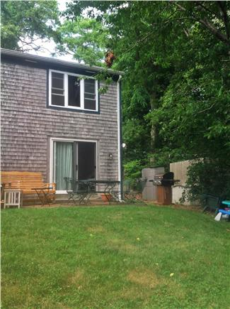 Orleans Cape Cod vacation rental - Exterior from the lake - new grill