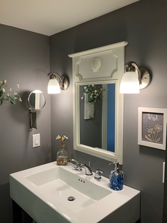 Orleans Cape Cod vacation rental - Upper floor bathroom sink