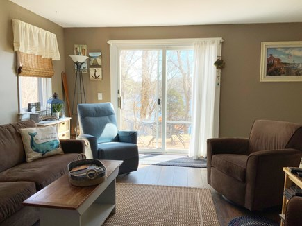Orleans Cape Cod vacation rental - Living room from the kitchen