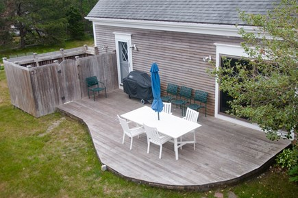 North Truro Cape Cod vacation rental - Deck and Outdoor Shower
