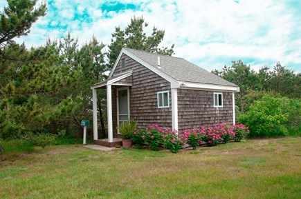North Truro Cape Cod vacation rental - Studio is steps away from main house