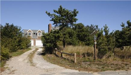 North Truro Cape Cod vacation rental - House is well back from road