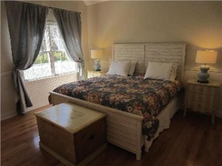 Brewster, Chatham/Orleans Cape Cod vacation rental - The large first floor Master Bedroom Suite with King Bed