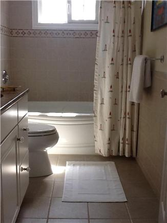 Brewster, Chatham/Orleans Cape Cod vacation rental - One of the two Upstairs full Bathrooms