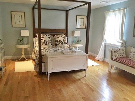Brewster, Chatham/Orleans Cape Cod vacation rental - An upstairs Queen Bedroom with four poster bed